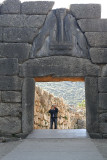 Mycenae - Photographer at Lion Gate .jpg