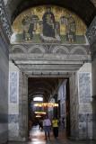 Hagia Sophia Lunette showing Presentation mosaic.jpg