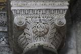 Hagia Sophia column capital with monogram of Justinian 1.jpg