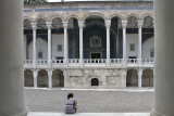 Istanbul Archaeological museum and girl .jpg