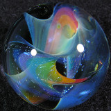 Twisted Space Rainbow  Size: 1.02  Price: SOLD