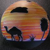Sunset on the Sahara Size: 3.65 Price: SOLD