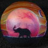 Serengeti Sunset 2 Size: 1.61 Price: SOLD