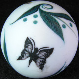 Butterfly Wishes Size: 1.33 Price: SOLD