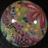 Hollow Glow Ball Size: 1.96 Price: SOLD