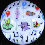Monster Party Size: 1.58 Price: SOLD