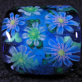 Anemone Hepatica Size: 1.04 x 0.83 Price: SOLD