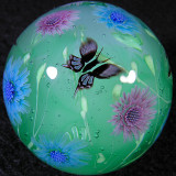 Cornflowers and Butterflies Size: 1.32 Price: SOLD