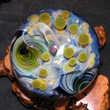 The UFO No-Longer-Crash Landing marble