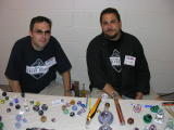 Andrew Weill (right) & Timothy Adams