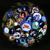 2.05  This is simply one of the greatest marbles ever created to this point in civilization.  31 different murrine are seen.