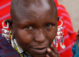 Woman at Maasai Market