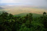 famous Ngorongoro Crater