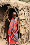 Young Maasai boy