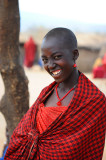 She is beautiful,Princess of the Maasai village