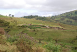 Maasai village o the highland