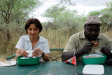 Lunch break at Tarangire