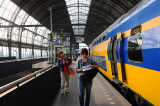 Gare central. Amsterdam