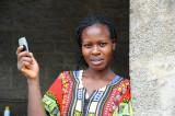 lady working at Wildebeest camp . Nairobi