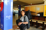 at Kigali airport . Rwanda