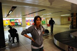 at the Johannesburg airport