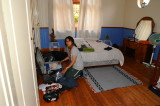 at the 2B Backpackers Lodge.Johannesburg