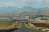 Scenery of Golden Gate Highlands NP