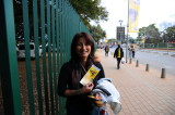 lucky to have ticket  see Paraway-Japan game