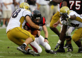Yellow Jackets DT Anderson sacks GWU QB Campbell