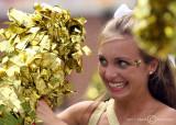 Georgia Tech Yellow Jackets Cheerleader