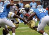 Georgia Tech QB Nesbitt weaves his way up field