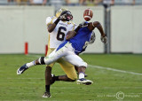 Jackets CB Rod Sweeting breaks up a pass intended for Blue Raiders WR Malcolm Beyah