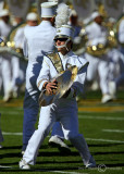Jackets Band member during halftime