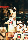 Jason Terry cuts down the nets in Birmingham, AL 1997