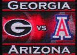 #1 Arizona Wildcats @ Georgia Bulldogs in the opening series of the 2008 season