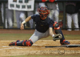 Wildcats C Dwight Childs takes the throw home…