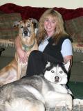 Me, Max & Monty christmas 2004