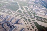 Chicago O'Hare Airport During Approach