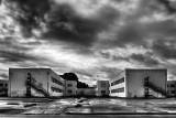 A Break in the Storm - Abandoned Barracks