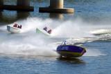 Skiffs racing