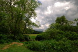 Valle Crucis, near the river