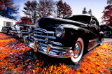 1948 Pontiac and others - mixed Infrared treatments