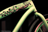 Bike in Lime and Pink