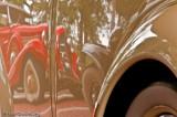1935 Auburn reflected on '36 Cord