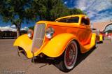 Orange 34 Ford
