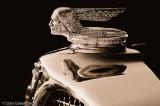 1931 Pontiac in Sepia
