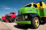 1949 Ford F5 COE with 2 Colemans