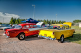 1956 and 1955 Chevy Drag Cars