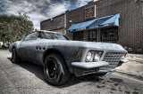 A Single Car - 1973 Buick Riviera