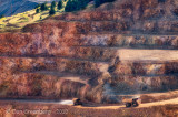 Gold Mine with Giant Trucks